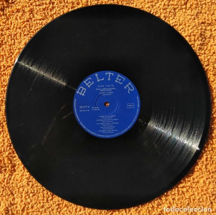Discos de vinilo: VINILO LP pepe pinto, belter, mi trigo limpio - 1968 MUY RARO - Foto 2 - 147639462