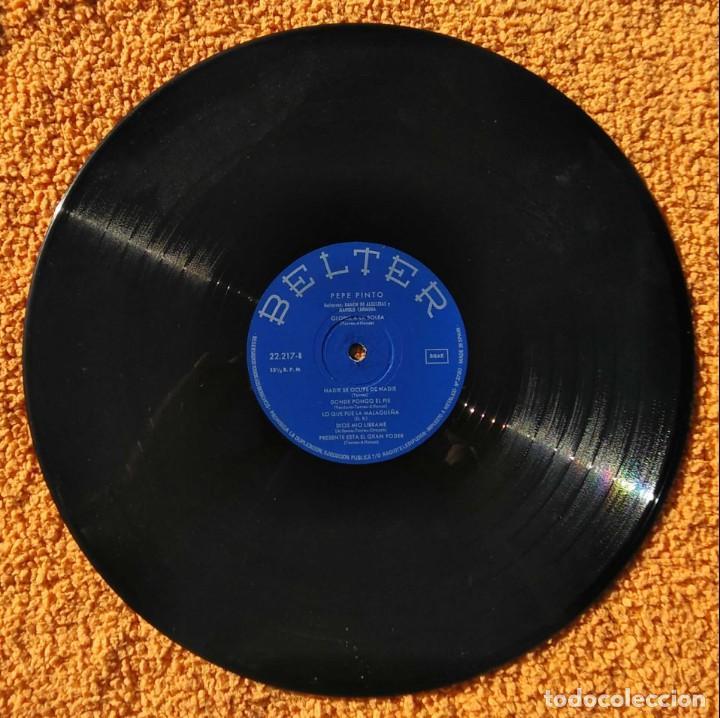 Discos de vinilo: VINILO LP pepe pinto, belter, mi trigo limpio - 1968 MUY RARO - Foto 3 - 147639462