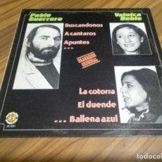 Discos de vinilo: PABLO GUERRERO. VAINICA DOBLE. VINILO EN BUEN ESTADO IGUAL QUE LA CARPETA. Lote 147639710