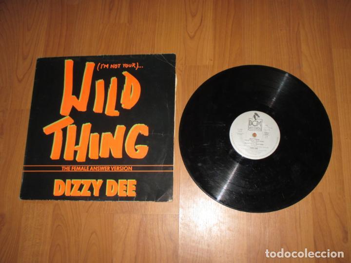DIZZY DEE - WILD THING - MAXI - GERMANY - BCM RECORDS - IBL - (Música - Discos de Vinilo - Maxi Singles - Rap / Hip Hop)