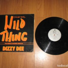 Discos de vinilo: DIZZY DEE - WILD THING - MAXI - GERMANY - BCM RECORDS - IBL - . Lote 147639746