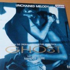 Discos de vinilo: MAURICE JARRE GHOST UNCHAINED MOLEY MAXI VINILO . Lote 147640234