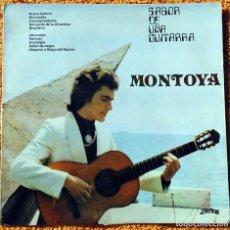 Discos de vinilo: VINILO LP MONTOYA SABOR DE UNA GUITARRA ZARTOS - 1976 MUY RARO . Lote 147640570