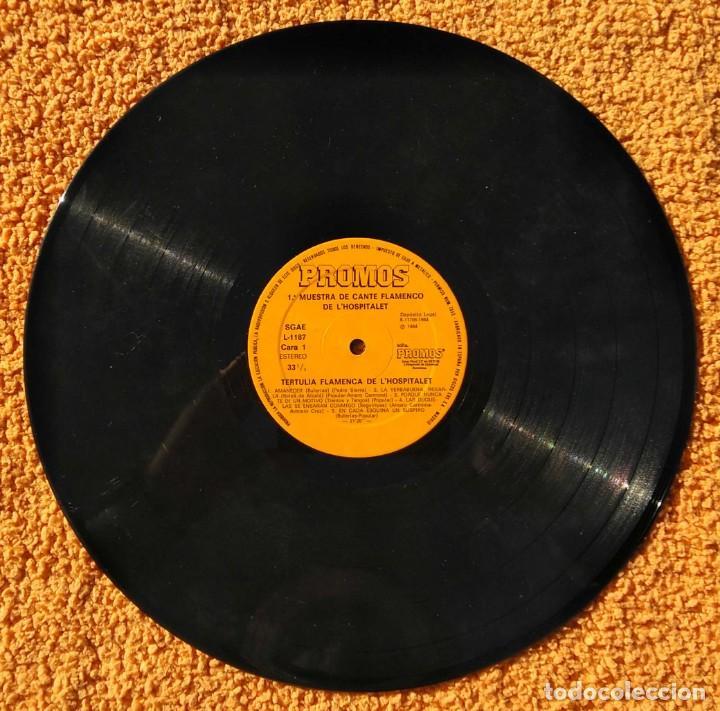 Discos de vinilo: VINILO LP 1ª Muestra De Cante Flamenco de L'Hospitalet De Llobregat - 1984 MUY RARO - Foto 2 - 147641022