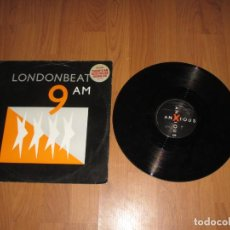 Discos de vinilo: LONDONBEAT - 9 A.M. - MAXI - UK - ANXIOUS RECORDS - IBL - . Lote 147641066