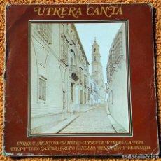 Discos de vinilo: VINILO LP UTRERA CANTA ENRIQUE MONTOYA, BAMBINO 1960) MUY RARO, DIFÍCIL DE ENCONTRAR . Lote 147642018