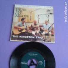 Discos de vinilo: JOYA EP. MADE IN USA 1963.THE KINGSTON TRIO.MOLLY DEE/GOOBEAR PEAS + 2 .PDELUXE. Lote 147642206