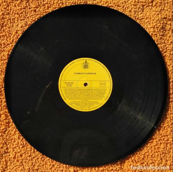 Discos de vinilo: VINILO LP rumbas flamencas(amina,los del rio y otros) - 1986, MUY RARO, DIFÍCIL DE CONSEGUIR - Foto 3 - 147642946