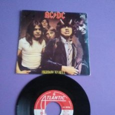Discos de vinilo: GENIAL SINGLE. AC DC AC/DC (HIGHWAY TO HELL / NIGHT PROWLER) SPAIN 1980 .ATLANTIC 45 1926. Lote 147643042