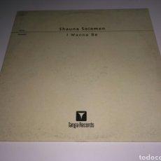 Discos de vinilo: SHAUNA SOLOMON - I WANNA BE. Lote 147644846