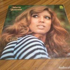 Discos de vinilo: MARIA JIMENEZ. VINILO LP EN BUEN ESTADO. CARPETA CON PEQUEÑA ROTURA EN LOMO. RARO. Lote 147649418