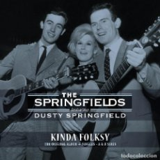 Discos de vinilo: THE SPRINGFIELDS * LP KINDA FOLKSY + SINGLES A & B SIDES SPRINGFIELDS* DUSTY SPRINGFIELD * RARE . Lote 147662854
