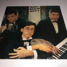 Discos de vinilo: GINO, JUANMA ORTEGA, JOSEP LLADÓ - DON DISCO MIX 2 (MIX) (LP, COMP, MIXED). Lote 147663545
