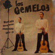 Discos de vinilo: LOS GEMELOS. MUSTAFA. EP ESPAÑA.. Lote 147669258