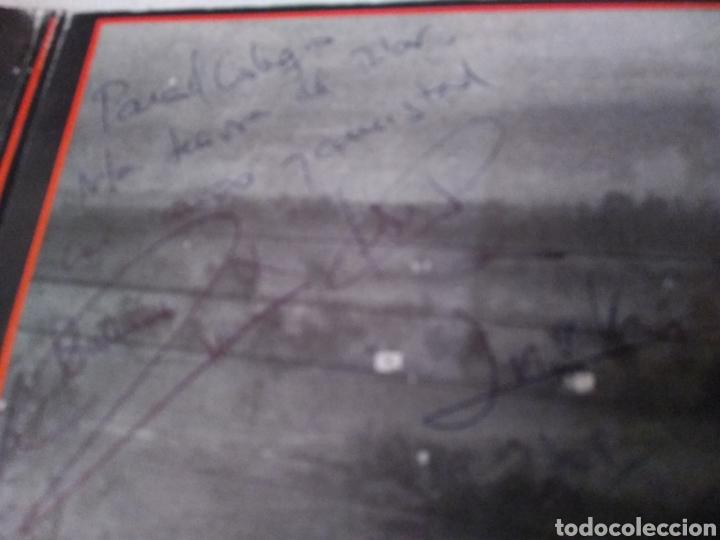 Discos de vinilo: CARMEN, JESUS E IÑAKI -DE LUNES A SABADO. LP FIRMADO POR LA FALLECIDA CARMEN MEDRANO (Y RESTO GRUPO) - Foto 2 - 147671425
