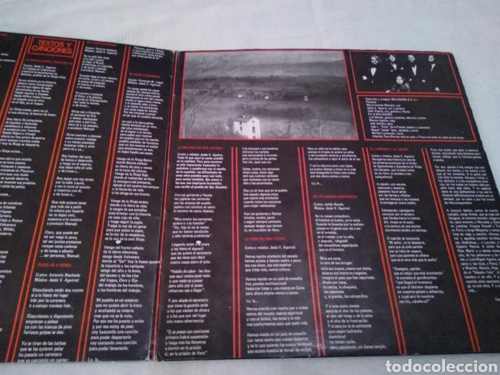 Discos de vinilo: CARMEN, JESUS E IÑAKI -DE LUNES A SABADO. LP FIRMADO POR LA FALLECIDA CARMEN MEDRANO (Y RESTO GRUPO) - Foto 3 - 147671425