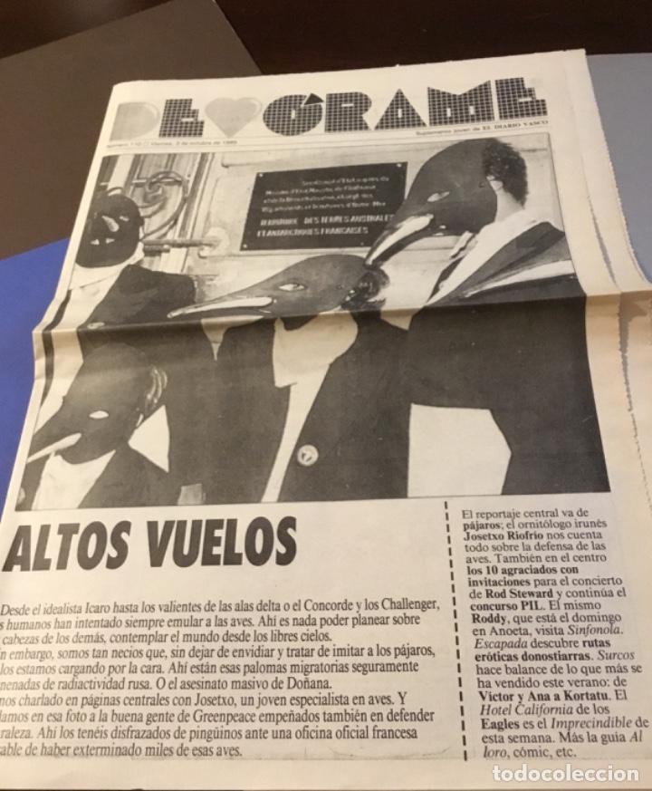 Discos de vinilo: Rod stewart artículo Del suplemento de órame 1985 - Foto 4 - 147678050