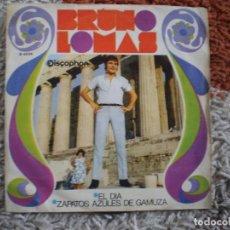 Discos de vinilo: BRUNO LOMAS. EL DIA. ORIGINAL DE 1968.. Lote 147678414