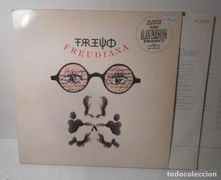 ALAN PARSONS PROJECT FREUDIANA LP VINILO DOBLE PORTADA ABIERTA EMI 1990 SPAIN (Música - Discos - LP Vinilo - Pop - Rock Extranjero de los 90 a la actualidad)