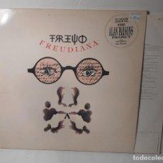 Discos de vinilo: ALAN PARSONS PROJECT FREUDIANA LP VINILO DOBLE PORTADA ABIERTA EMI 1990 SPAIN. Lote 147679102