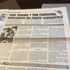 Discos de vinilo: YARD TRAUMA THE FOURGIVEN ARTÍCULO DEL SUPLEMENTO DEVÓRAME. Lote 147680278