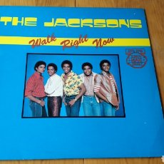 Discos de vinilo: MICHAEL JACKSON THE JACKSONS MAXI SINGLE WALK RIGHT NOW. Lote 147683913