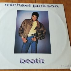 Discos de vinilo: MICHAEL JACKSON MAXI SINGLE BEAT IT. Lote 147684637