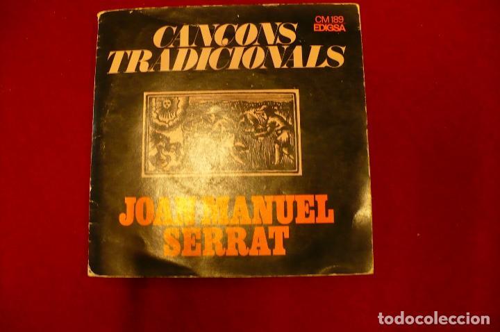 JOAN MANEL SERRAT -- EL BALL DE LA CIVADA / CANÇO DE BATRE / LA CANÇO DEL LLADRE / EL ROSSINYOL, (Música - Discos de Vinilo - EPs - Solistas Españoles de los 70 a la actualidad)