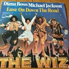 Discos de vinilo: MICHAEL JACKSON DIANA ROSS MAXI SINGLE. Lote 147684976