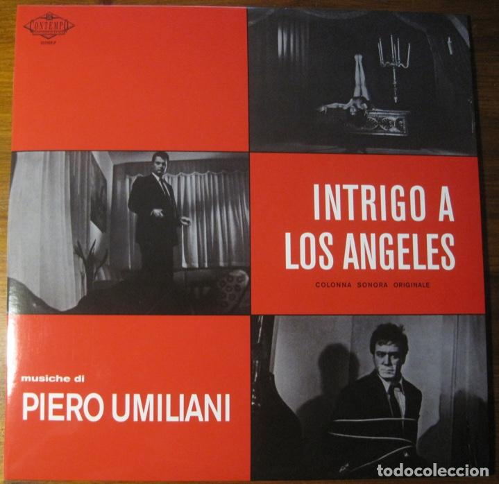 Discos de vinilo: Piero Umiliani–Intrigo A Los Angeles (Colonna Sonora Originale) 2x Lp - Foto 1 - 147689542