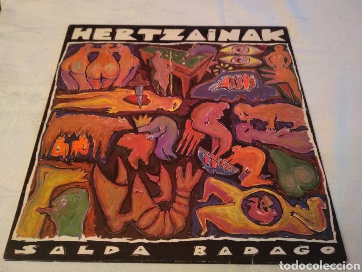 HERTZAINAK - LP SALDA BADAGO - LP ROCK VASCO (Música - Discos - LP Vinilo - Grupos Españoles de los 70 y 80)