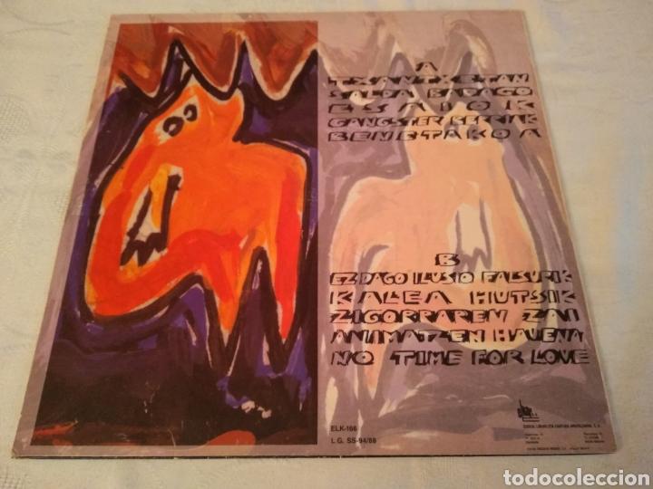 Discos de vinilo: HERTZAINAK - LP SALDA BADAGO - LP ROCK VASCO - Foto 2 - 147690025