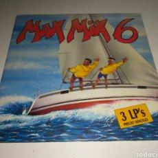 Discos de vinilo: MAX MIX 6 (3XLP, COMP, GAT) (CONTIENE LOS 3 DISCOS). Lote 147692526