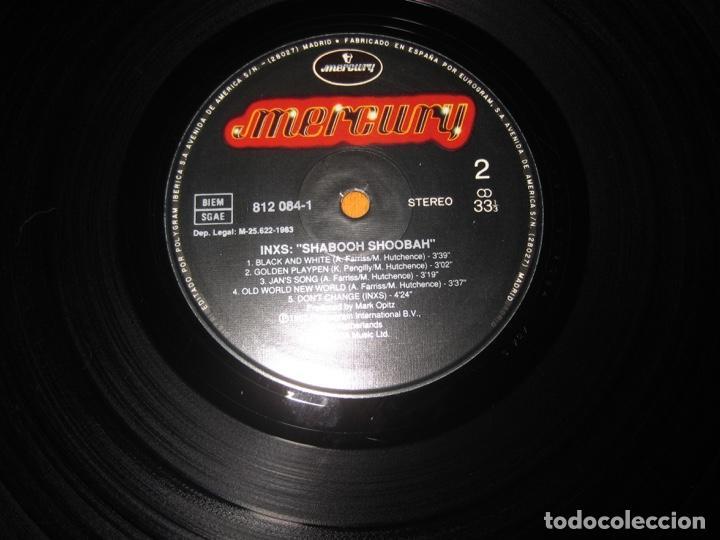 Discos de vinilo: INXS–Shabooh Shoobah Lp - Foto 4 - 147692914