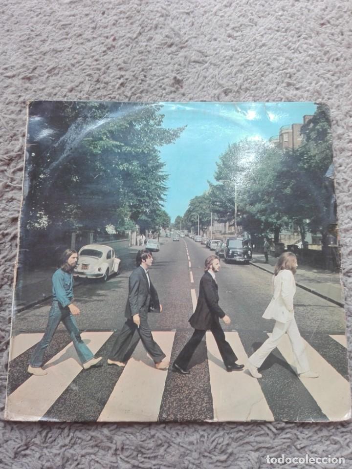 THE BEATLES ABBEY ROAD-EDICIÓN ESPAÑOLA-J-062-04.243 (Música - Discos - LP Vinilo - Pop - Rock Extranjero de los 50 y 60)