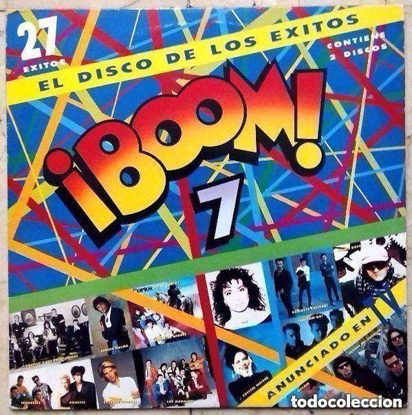 BOOM 7 - DOBLE LP 1991 - LOQUILLO, TENNESSEE, LOS MANOLOS, LUZ ,HEROES DEL SILENCIO, ETC (Música - Discos - LP Vinilo - Pop - Rock Extranjero de los 90 a la actualidad)