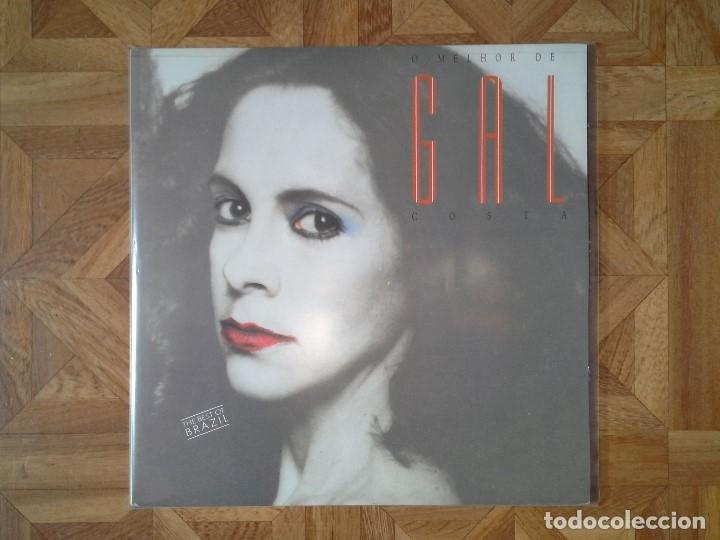 O MELHOR DE GAL COSTA - DOBLE LP 1988 - CARPETA EX- VINILOS EX- (Música - Discos - LP Vinilo - Otros estilos)