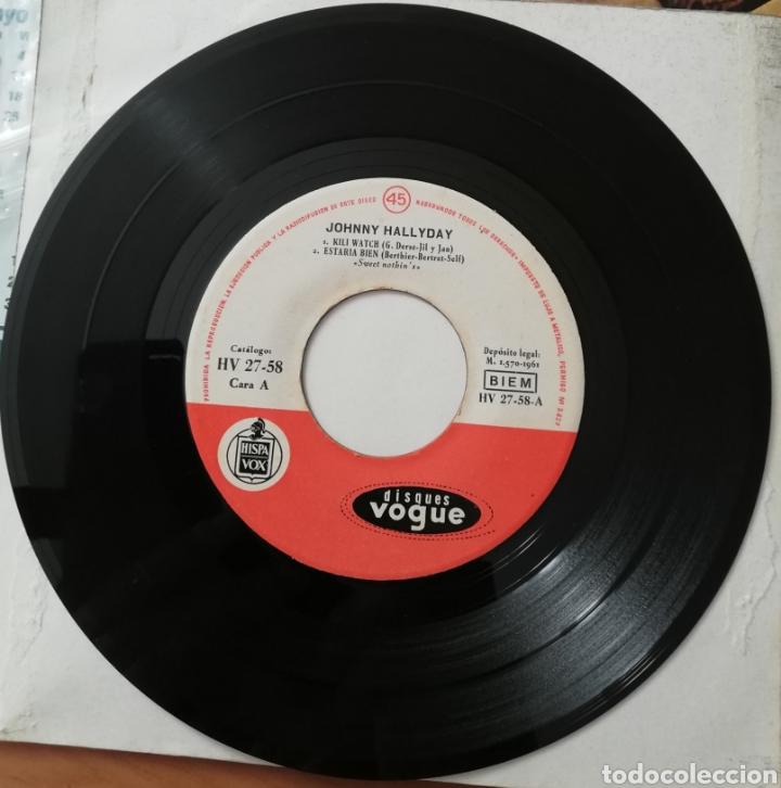 JOHNNY HALLYDAY. KILI WATCH +3. SOLO DISCO (Música - Discos de Vinilo - EPs - Pop - Rock Internacional de los 50 y 60)