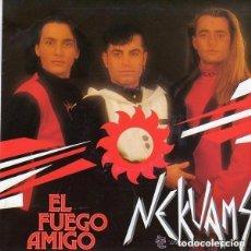 Discos de vinilo: NEKUAMS - BAILA MORENA - MAXI SPAIN 1990. Lote 147698770