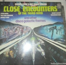 Discos de vinilo: GEOFF LOVE'S BIG DISCO SOUND - CLOSE ENCOUNTERS THIRD KIND AND OTHER DISCO GALACTIC THEMES 1978. Lote 147700478