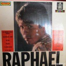 Discos de vinilo: RAPHAEL ( FRANCIA ) HABLEMOS DEL AMOR // YO SOY AQUEL // LA NOCHE // MI VIDA // AL PONERSE EL SOL . Lote 147708662