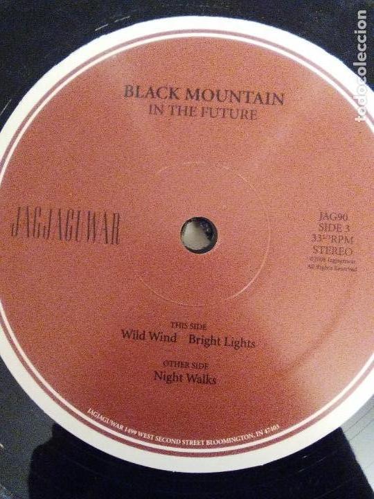 Discos de vinilo: BLACK MOUNTAIN In the future 2LP ( 2008 JAGJAGUWAR USA ) EXCELENTE ESTADO PSYCHEDELIC ROCK - Foto 5 - 147676398