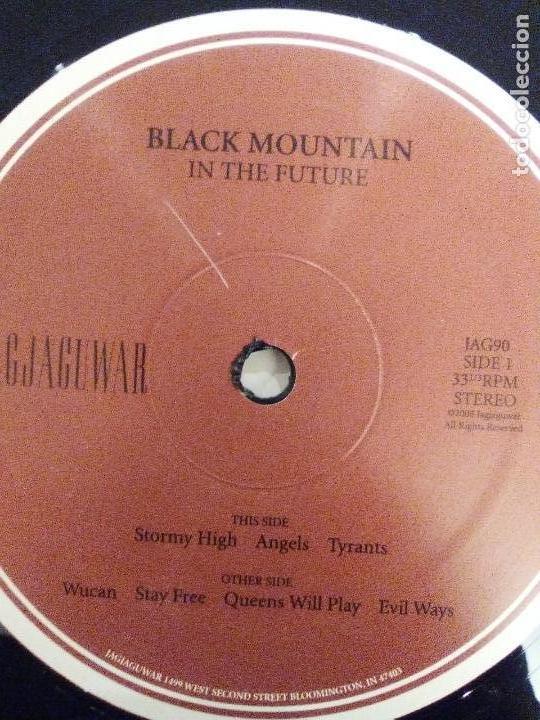 Discos de vinilo: BLACK MOUNTAIN In the future 2LP ( 2008 JAGJAGUWAR USA ) EXCELENTE ESTADO PSYCHEDELIC ROCK - Foto 6 - 147676398