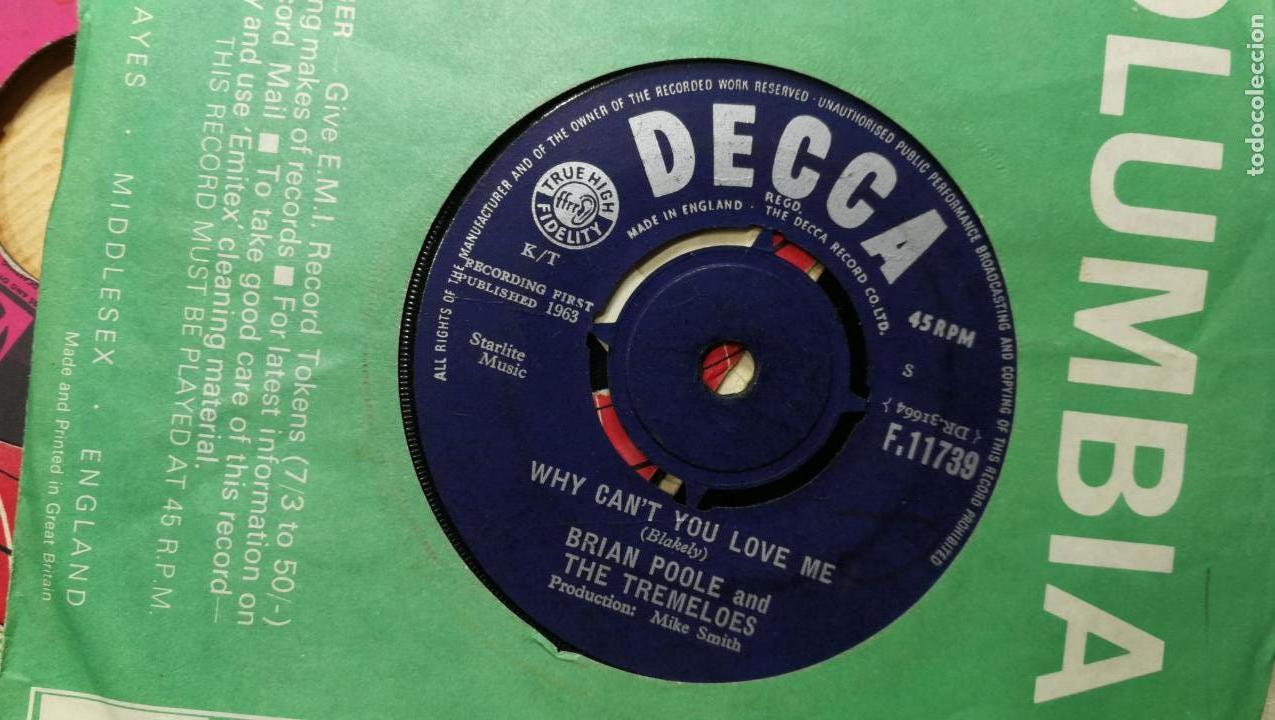 Discos de vinilo: Gran lote de discos pequeños singles, muy variados y raros, unos 43 - Foto 6 - 147718110