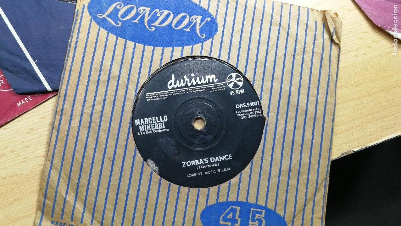 Discos de vinilo: Gran lote de discos pequeños singles, muy variados y raros, unos 43 - Foto 12 - 147718110