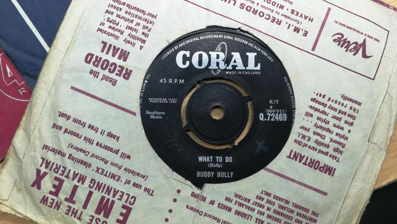 Discos de vinilo: Gran lote de discos pequeños singles, muy variados y raros, unos 43 - Foto 14 - 147718110