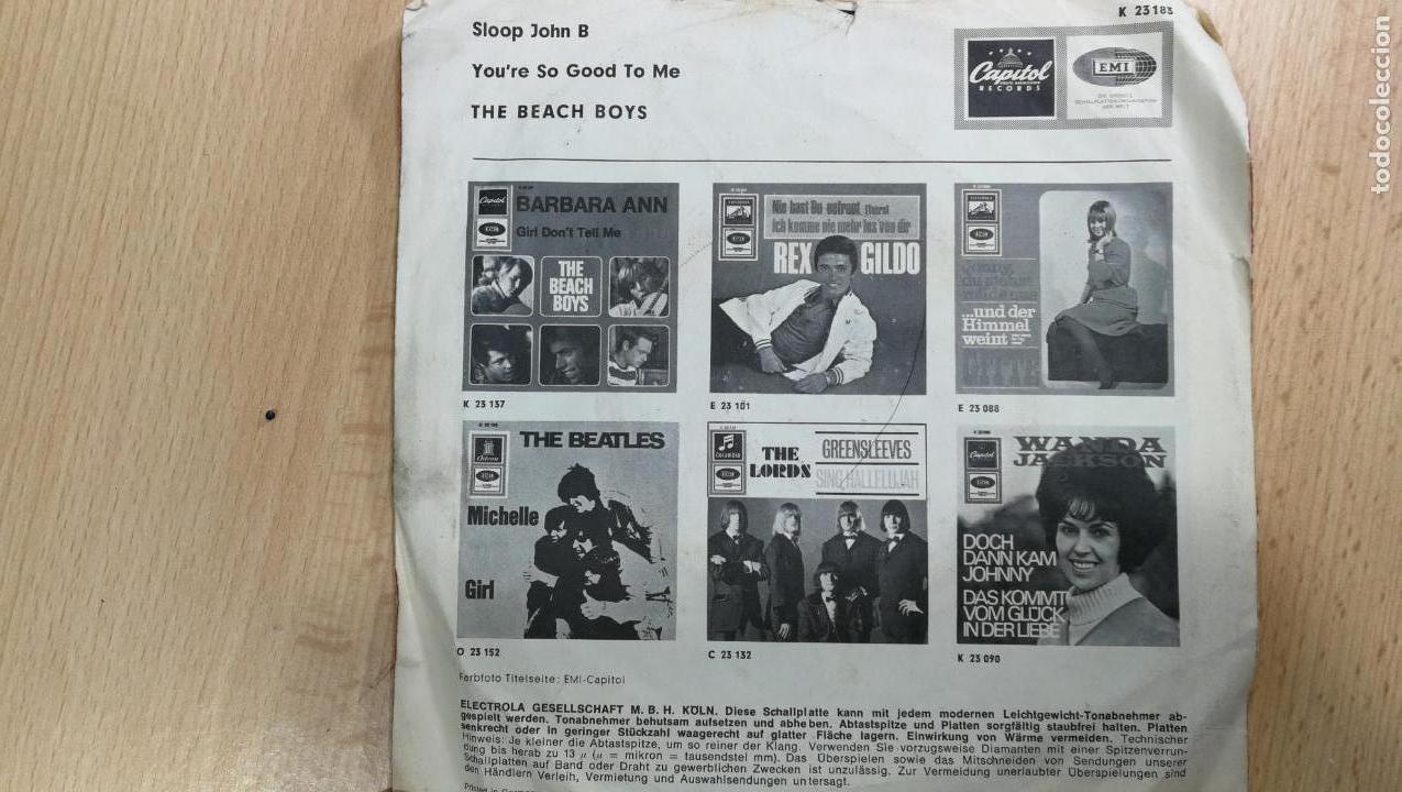 Discos de vinilo: Gran lote de discos pequeños singles, muy variados y raros, unos 43 - Foto 17 - 147718110