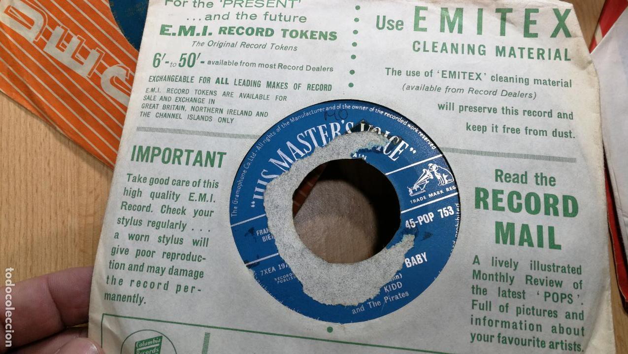 Discos de vinilo: Gran lote de discos pequeños singles, muy variados y raros, unos 43 - Foto 31 - 147718110