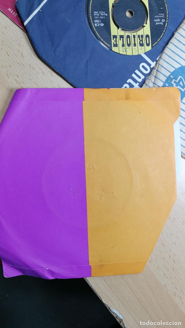 Discos de vinilo: Gran lote de discos pequeños singles, muy variados y raros, unos 43 - Foto 84 - 147718110