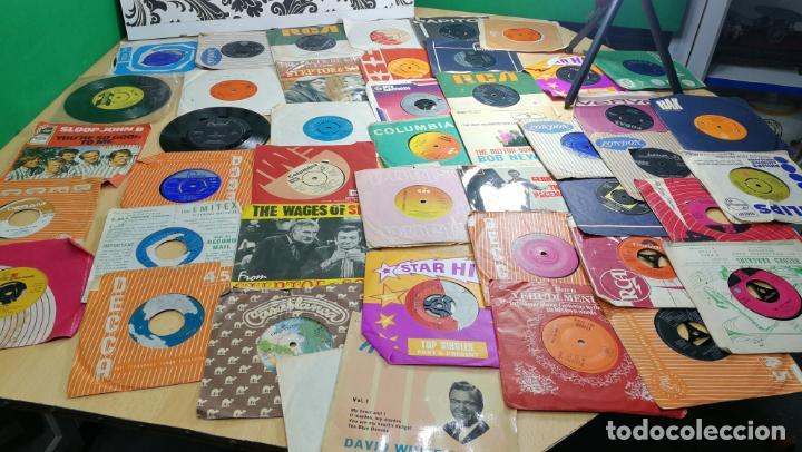 Discos de vinilo: Gran lote de discos pequeños singles, muy variados y raros, unos 43 - Foto 85 - 147718110